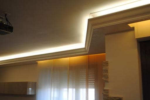 Cornici Soffitto Gesso: Dettagli su cornici polistirolo mod bagno camera da letto cucina.
